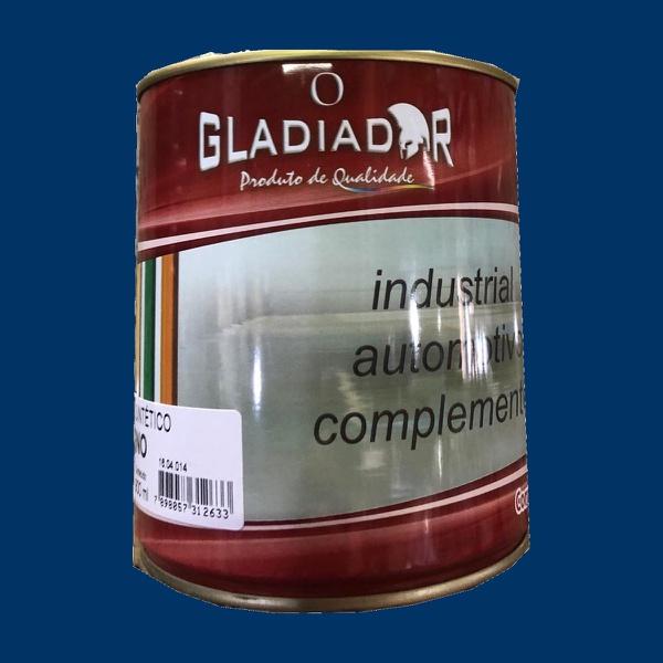 Tinta Esmalte Para Madeira e Metais 900ml Azul Del Rey Brilhante
