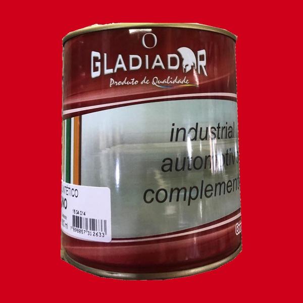 Tinta Esmalte Para Madeira e Metais 900ml Vermelho Brilhante