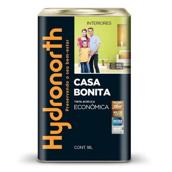 Tinta Hydronorth Acrílica Econômica 18L Branca Super