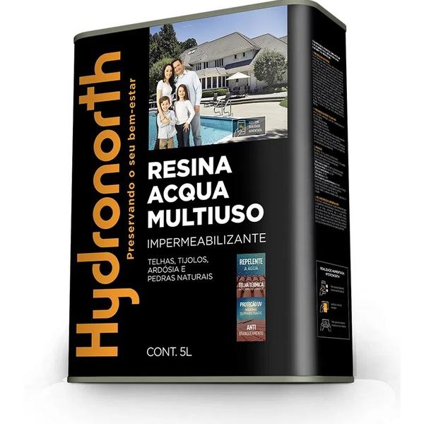 Resina Multiuso Acqua Incolor 5L Hydronorth