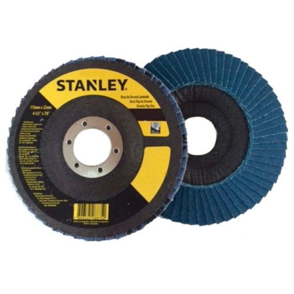 "Disco Flap 4 1/2"" Multiuso Grão 80 Stanley STA4080FZ"