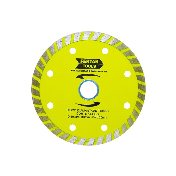 Disco de Corte Diamantado Turbo FertaK