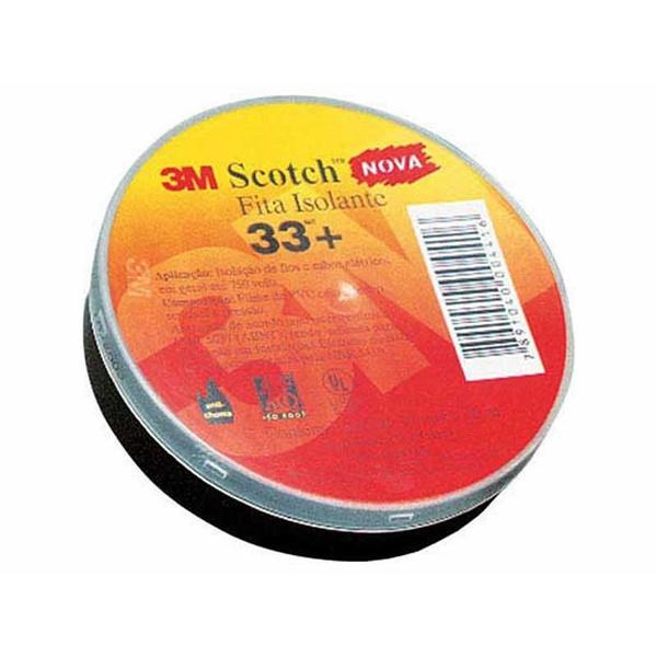 Fita isolante Scotch 33+ 19mm x 20m 3M