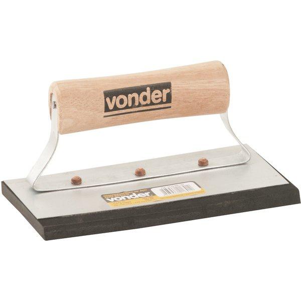 Desempenadeira de Rejunte Reta 9,5x18cm Vonder