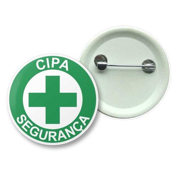 Broche Tipo Boton de Seguranca CIPA 2,5cm