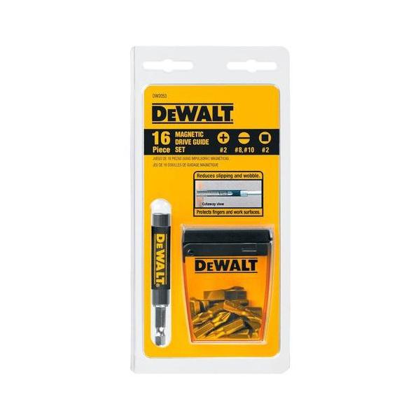 Jogo de ponta com guia magnética para parafusar com 16 peças - DW-2053 - Dewalt