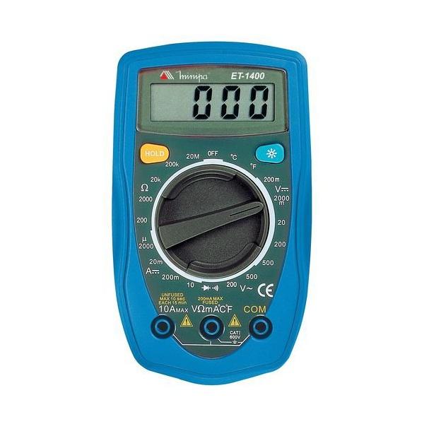 Multimetro Digital ET-1400 MInipa ET-1400