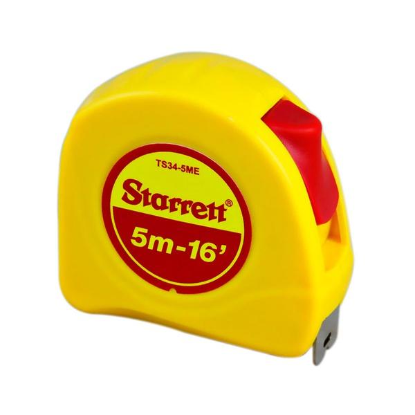 Trena com fita de aço de 5 metros com trava - Starrett