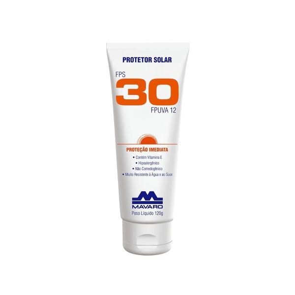 Protetor Solar FPS 30 Mavaro