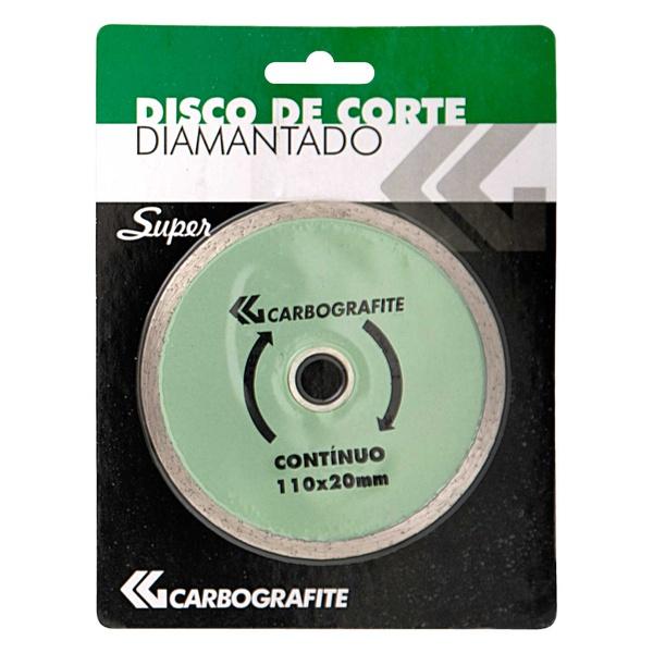 Disco de Corte Diamantado Continuo Carbografite