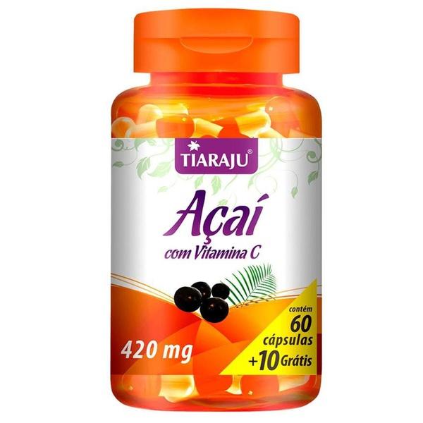 Açaí com Vitamina C - 60caps x 420mg