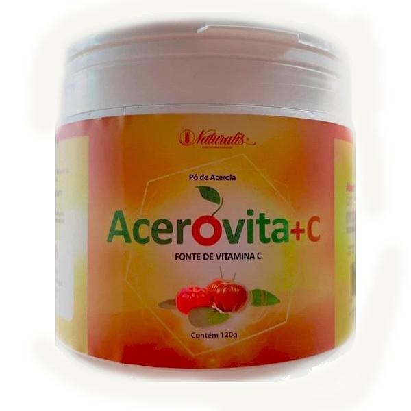 Acerovita + C Pó de Acerola 120g