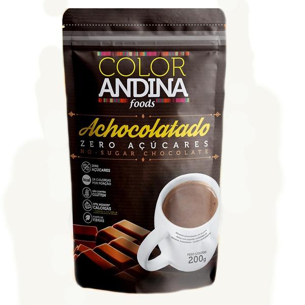 Achocolatado Zero Açúcar 200g