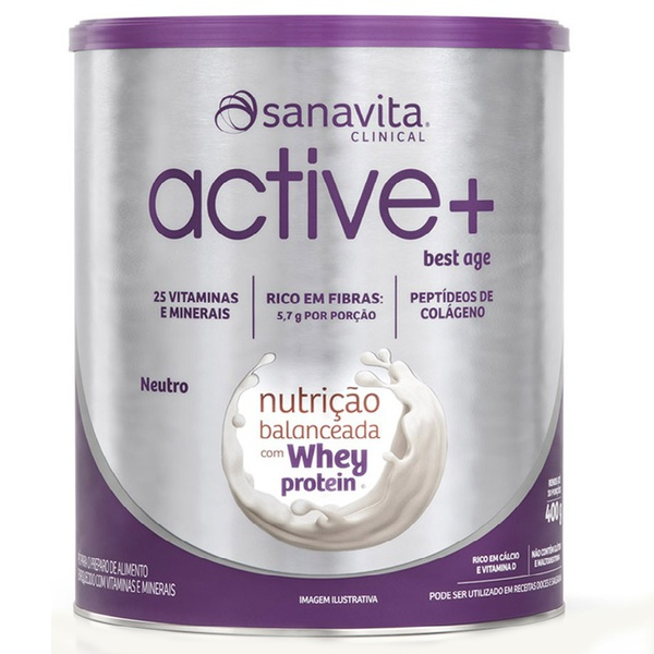 Active+ Best Age Whey Zero Neutro 400g