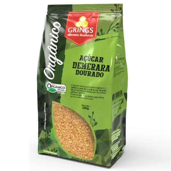 Açúcar Demerara Dourado Orgânico 500g