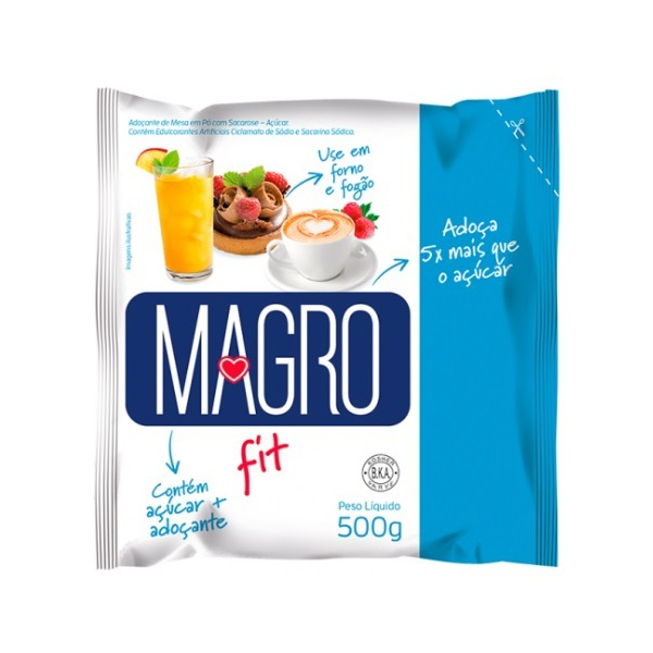 Adoçante Magro Fit 500g
