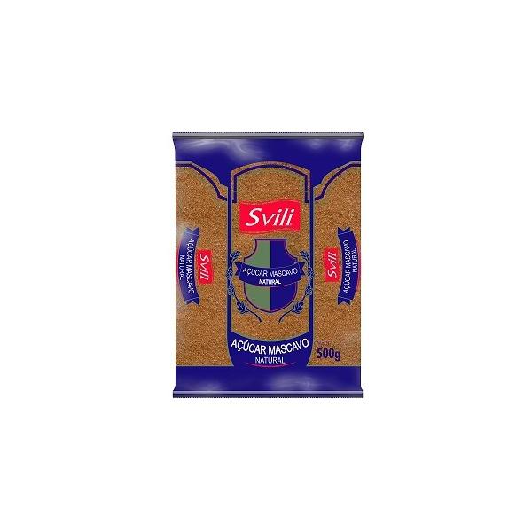 Açúcar Mascavo Natural 500g