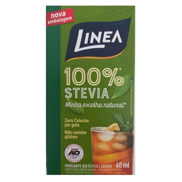 Adoçante Dietético Stévia 100% Linea 60ml