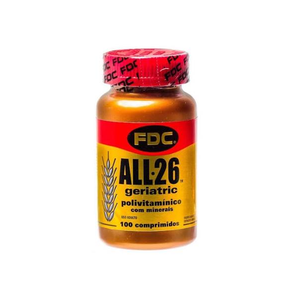 All 26 Geriatric FDC 100 comprimidos
