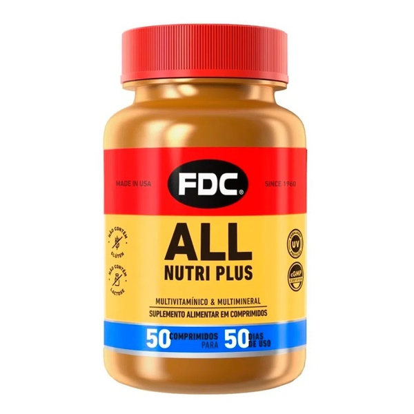 All Nutri Plus 50 comprimidos