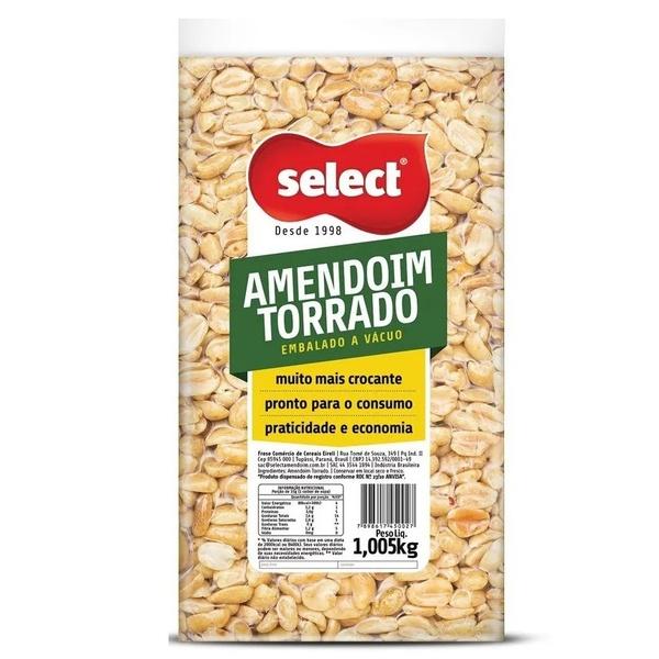 Amendoim Torrado À Vácuo 1,005kg