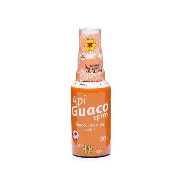 Apiguaco Spray Própolis, Mel E Guaco 30ml