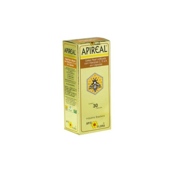 Apireal Geléia Real Liofilizada 30 Caps