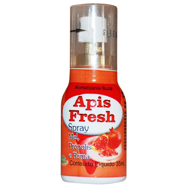 Apis Fresh Spray Própolis Mel e Romã 35ml