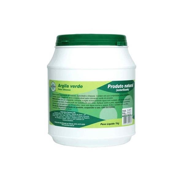 Argila Verde (Pote) 1kg