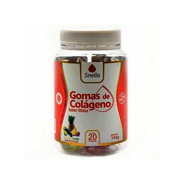 Gomas de Colágeno Misto 20 unidades