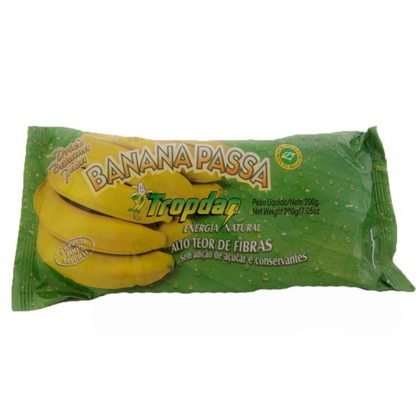 Banana Passa Sem Açúcar 200g