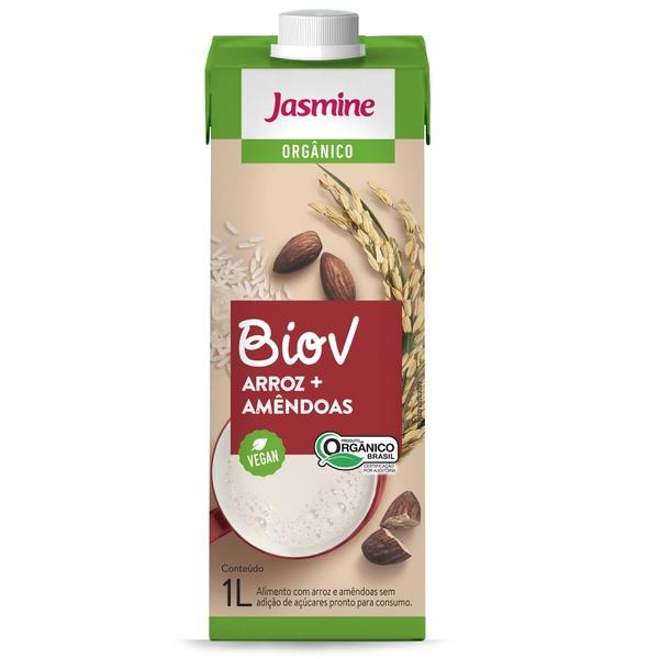 BioV de Arroz + Amêndoas Organico Vegan 1 litro