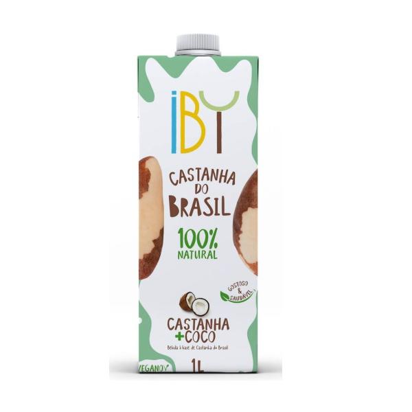 Bebida Castanha + Coco 1 litro IBY