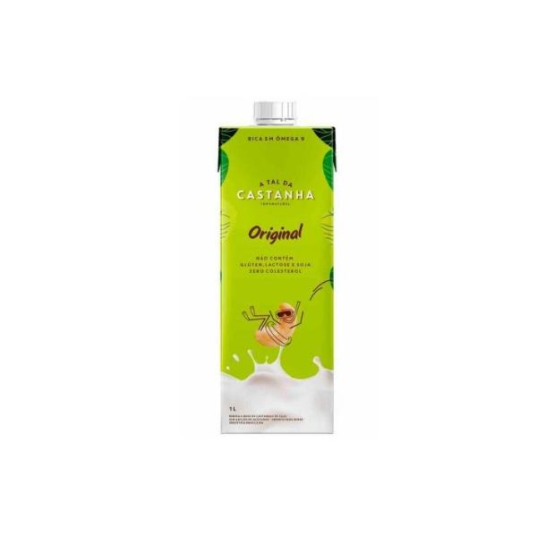 Bebida Vegetal Castanha de Caju Original 1 litro
