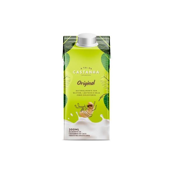 Bebida Vegetal de Castanha Original 200ml