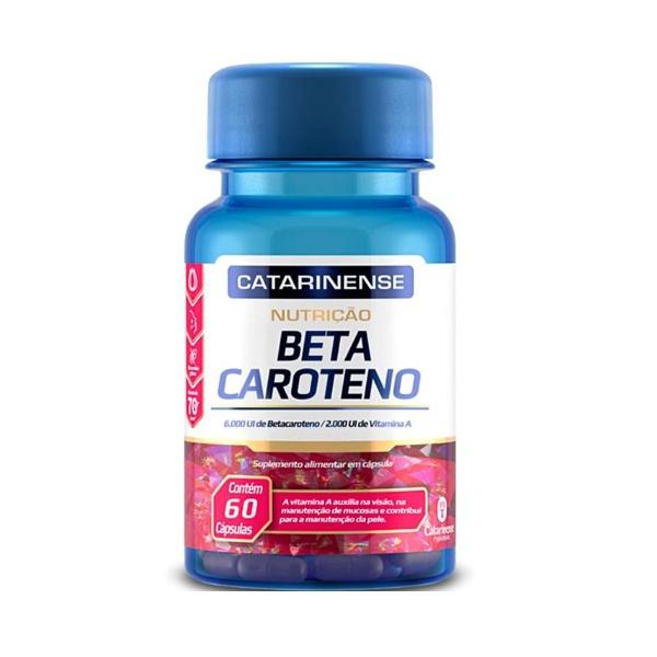 Beta Caroteno 60 Cápsulas