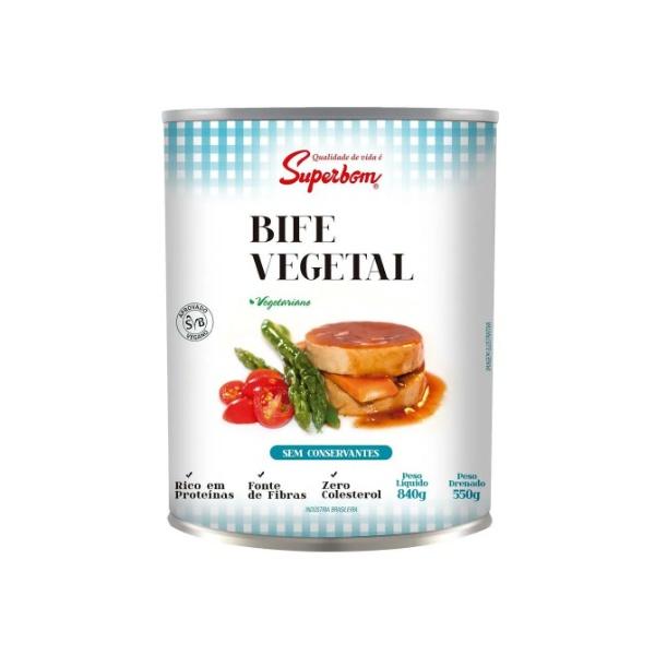 Bife Vegetariano 550g