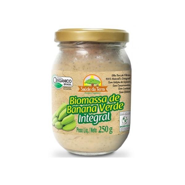 Biomassa Banana Verde Orgânica Integral 250g