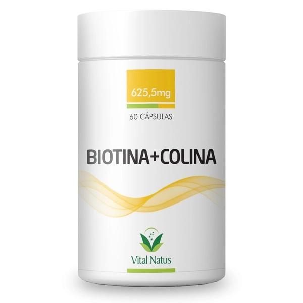 Biotina + Colina 60caps x 625,5mg