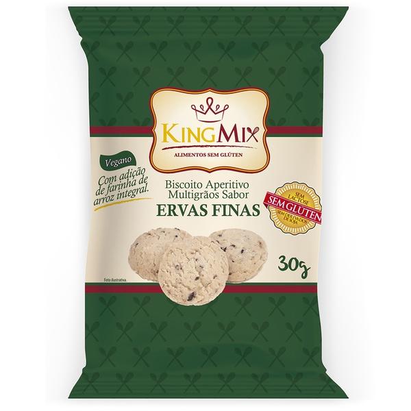Biscoito Aperitivo Ervas Finas 30g