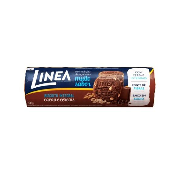 Biscoito Integral Cacau e Cereais 120g