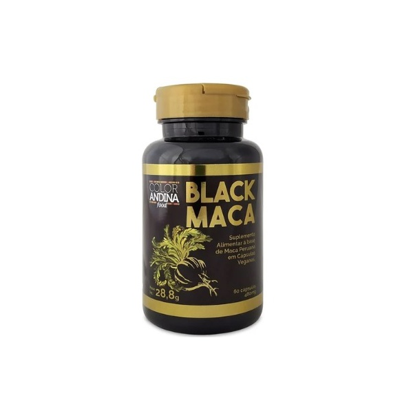 Black Maca Vegana 60 x 480mg