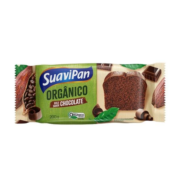 Bolo Orgânico Sabor Chocolate 200g