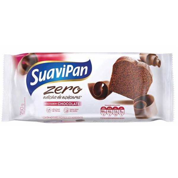 Bolo Zero Sabor Chocolate 250g