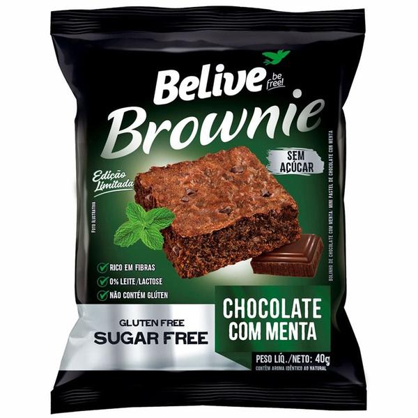 Brownie Chocolate Com Menta Display 10x40g