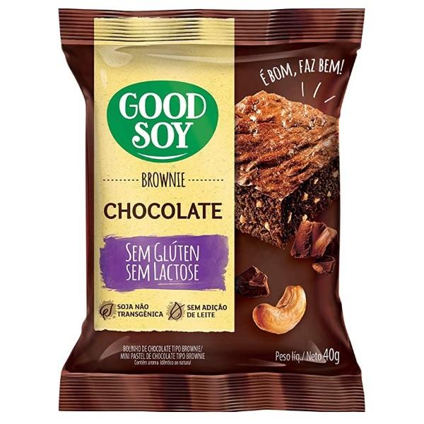 Brownie Chocolate Sem Glúten Display 10 x 40g