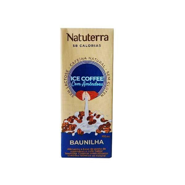 Bebida de Amêndoas e Café Baunilha 200ml