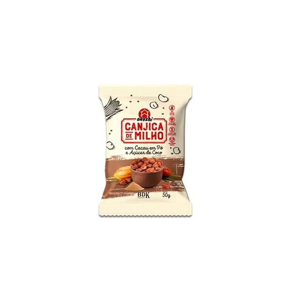 Canjica de Milho Cacau em Pó e Açúcar de Coco 50g