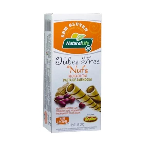 Tubes Free Nut's Pasta de Amendoim 50g