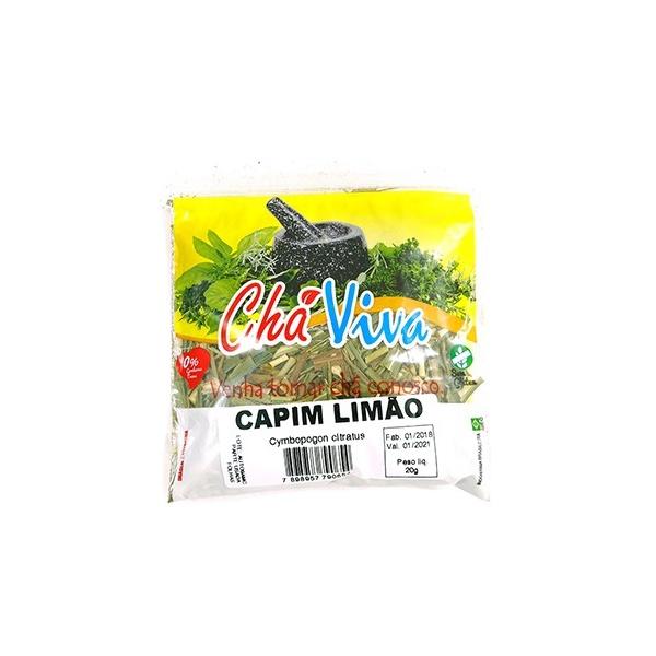 Capim Limão Chá Viva 20g